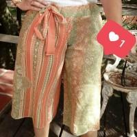 Calça Pantacourt feita em casa